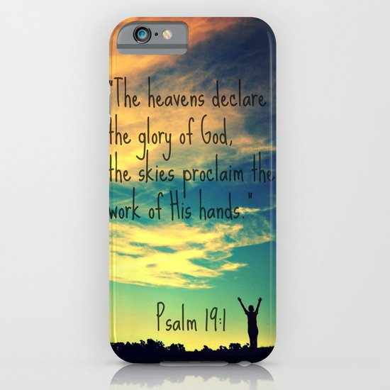 God's Handiwork iPhone & iPod Case
