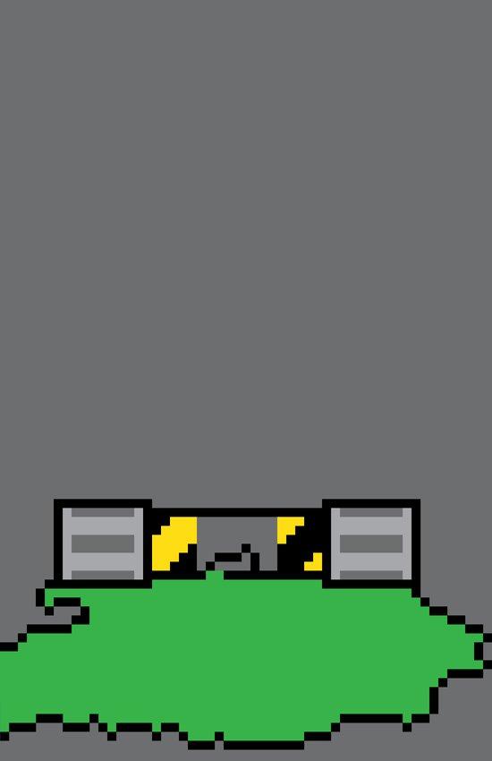Teenage Mutant Ninja Pixels Art Print