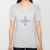Northern Knot Pattern Unisex V-Neck