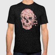A Beautiful Death  Mens Fitted Tee Tri-Black SMALL
