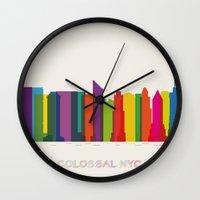 Colossal NYC Wall Clock