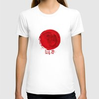 japanese T-shirts featuring japanese by Ugit Flew
