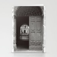 Rome Door 3 Stationery Cards