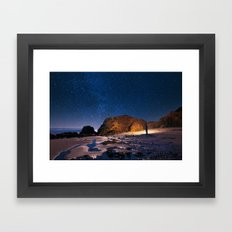 Night Adventurer Framed Art Print