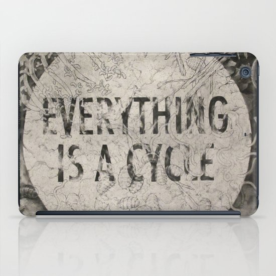 Everything Is A Cycle iPad Case