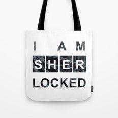 SHERLOCK I am Sherlocked Print Tote Bag