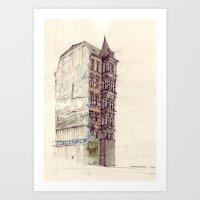 Gaisburgstraße Stuttgar… Art Print