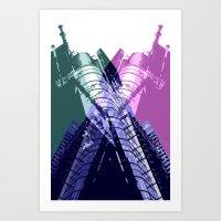 XX3 Art Print