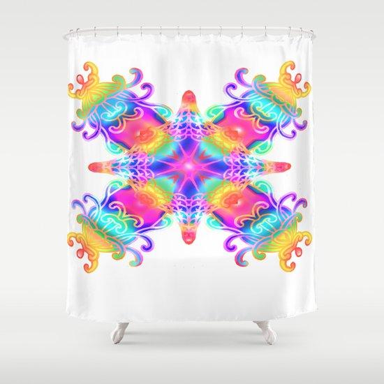 Colours Colours Shower Curtain