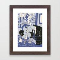 HIGH FINANCE Framed Art Print
