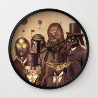 Victorian Wars  Wall Clock