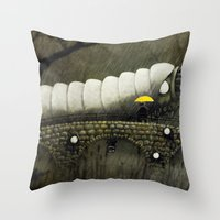 Uncospicuolicious Throw Pillow