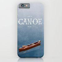I Want To Canoe With You iPhone 6 Slim Case