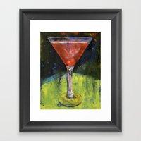 Comfortable Cherry Marti… Framed Art Print