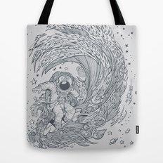 I only surf on Comets Tote Bag