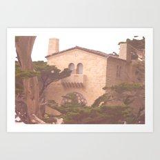 House Along the Coast Art Print