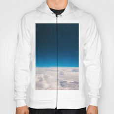 Blue and White at the sky Hoody