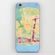 Sail In The Set iPhone & iPod Skin