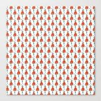 Tulip Dress Canvas Print