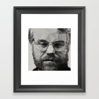 R.I.P Philip Seymour Hof… Framed Art Print