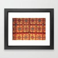 mishy mash Framed Art Print