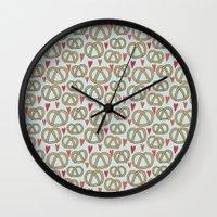 Pattern Project #43 / Pr… Wall Clock