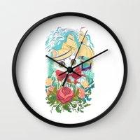 Sailor Kitty Wall Clock