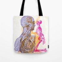 Anatomy Montage 1 Tote Bag