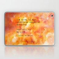 Make Everything Beautifu… Laptop & iPad Skin