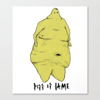 Everyone Is Objectified Canvas Print