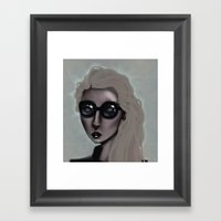 Shades With A Glow Framed Art Print