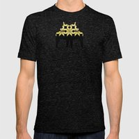 Golden Snow Mens Fitted Tee Tri-Black SMALL