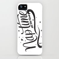 iPhone 5s & iPhone 5 Cases featuring Nap time all the time by Matthew Taylor Wilson