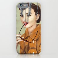 iPhone & iPod Case featuring Audrey Hepburn by FAMOUS WHEN DEAD