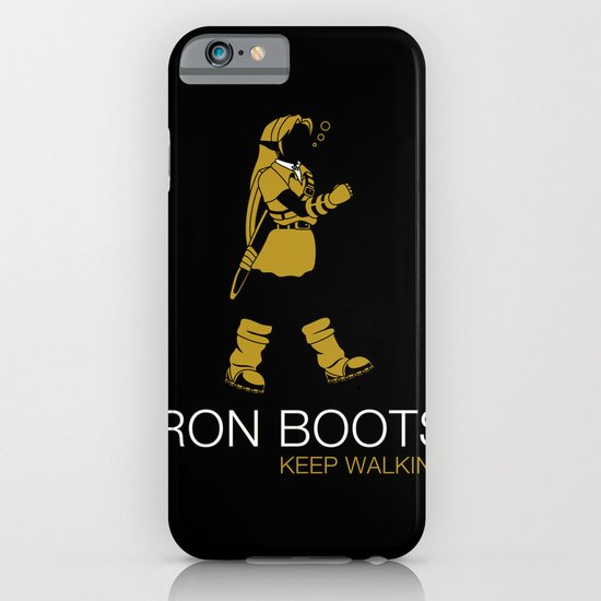 Iron Boots iPhone & iPod Case