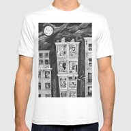 T-shirt featuring Downtown by Leyla Akdogan