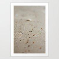 Sea Sand Art Print
