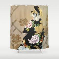 Haruyo Morita - Echigo Dojouji Shower Curtain