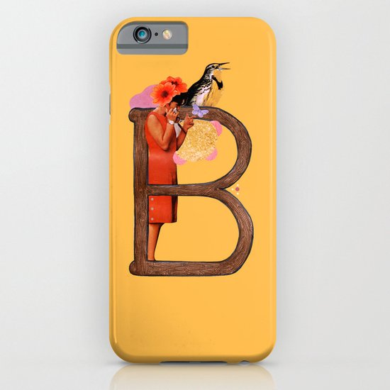 "A TO Z - ""B"" iPhone & iPod Case"