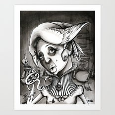 Lady Heartwood Art Print