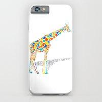 iPhone & iPod Case featuring Technicolor Giraffe by Jon Hernandez