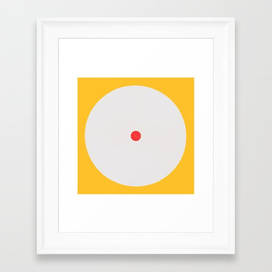 Awake Study 1 Framed Art Print