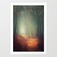 Back To Light Art Print