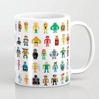 Pixel Heroes Mug