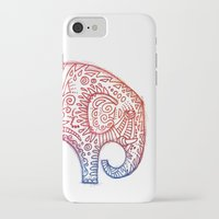 elephants iPhone & iPod Cases featuring Elephants by Alibabaform