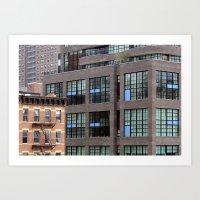 Buildings In NYC Art Print