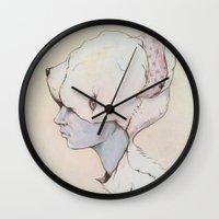Portrait E Wall Clock