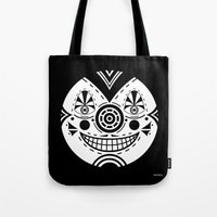 Priest Circle- Black On … Tote Bag