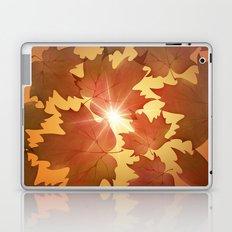 Autumn Leaves Fall Season Laptop & iPad Skin