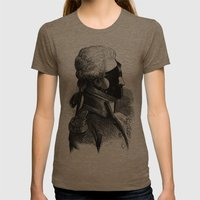BDSM XXXI Womens Fitted Tee Tri-Coffee SMALL